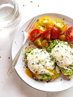 Eggs Make Everything Better: 11 Glorious Dishes Crowned With an Egg   AVOCADO TOAST   Avocados and poached eggs are transcendent on their own. But together? On a thin slice of whole grain bread? Otherworldly.