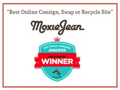 Moxie Jean was voted the #1 site for baby and kid's resale by moms all over the country. They make it super easy to keep kids looking sharp with designer steals plus everyday basics. You'll love it!
