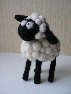 Sheep | Needle felted sheep toy. | agne vasiukeviciute | Flickr