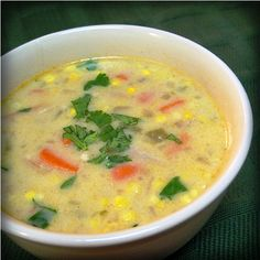 Creamy Mexican Turkey Soup after thanksgiving