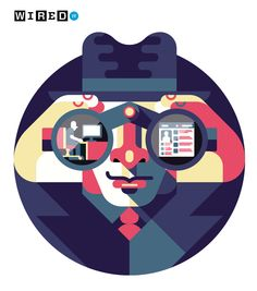 WIRED ITALY - Daniel Nyari Graphic Design & Illustration