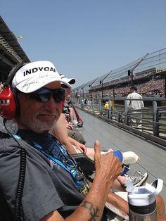 Chuck, 67, Wished to attend the Indy 500. #WishConnect