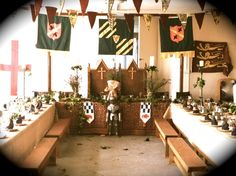 Medieval Banquet Hire Ltd....they have everything!!