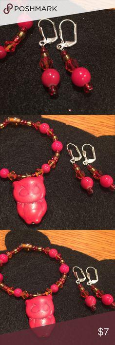 Red Earrings Cute and Spunky Red Earrings Jewelry Earrings