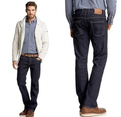 mens dark denim jeans - Google Search