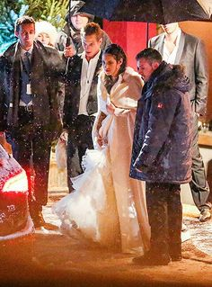 The wedding of Andrea Casiraghi and Tatiana Santo Domingo at the Rougemont church in Gstaad.
