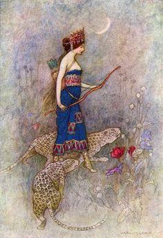 Warwick Goble - Princess of Palmyra