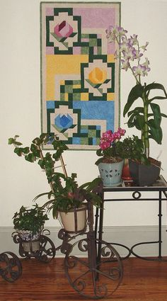 Robert's Mystery Wall Quilt is a fun project that we had last year.  Here all all five parts
