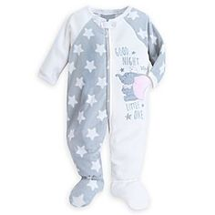 Disney Dumbo Blanket Sleeper for Baby | Disney StoreDumbo Blanket Sleeper for Baby - An elephant never forgets the comfort of our blanket sleeper! Featuring embroidered text and stars, this soft fleece sleeper will let your little one get a good night's rest as Dumbo looks up at the stars.