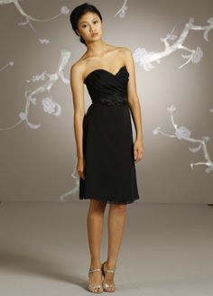 This girl looks sooo awkward but the dress is cute :)  Jim Hjelm