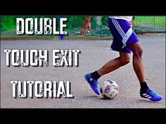Double Touch Exit Tutorial | RJSkills - YouTube Ronaldinho Skills, Soccer Dribbling Drills, Football Training Drills, Soccer Skills For Kids, Soccer Practice, Alabama Football Funny, College Football, Football Tricks, Fitness Exercises