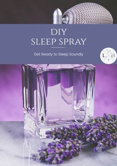 This sleep spray uses the power of essential oils to help induce a wonderful night of sleep. There are two essential oils I use in this recipe. I love this combination and often diffuse it.
