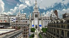 Minecraft Imperial City Project