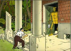 Les Cybers ne sont pas des hommes by Yves Chaland - Comic Strip