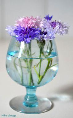 flores, cristal, bouquet, bouquets, vaso, vasos, copa, licor, diy, hazlo tu mismo, ambar, decoracion mesas, rosas, florero, violetero, acian...