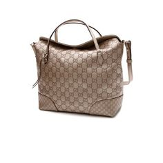 Pre-Owned Gucci Metallic Gold Guccissma Leather Bree Top Handle Bag ($1,000) ❤ liked on Polyvore featuring bags, handbags, metallic gold, leather top handle bag, genuine leather handbags, gucci purse, real leather purses and genuine leather purse