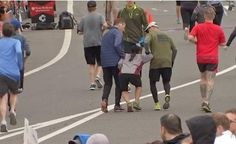 La imagen de la media maratón de Filadelfia que conmueve al mundo
