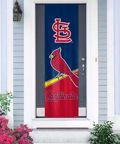 This St. Louis Cardinals Door Banner is perfect! #zulilyfinds