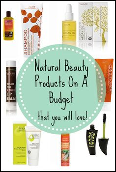 Natural, toxin-free beauty products that won't break the bank!  Natural + affordable.  Great way to start the new year.