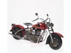 Reinhart Faelens Kunstgewerbe Blech-Motorrad, ca. 37 x 15 x 20 cm