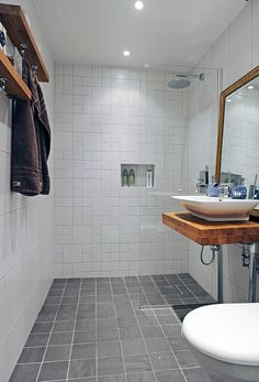 #bathroom #interiordesign #interior #modern #scandinavian #tiles #storage #simple #minimalistic #altomindretning