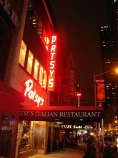 Patsy's Italian Restaurant is one of the greatest attractions in New York City's theater district. Known as Frank Sinatra's favorite eatery this is an old school Italian restaurant that takes you back to dining out in the 60s. The spaghetti and meatballs is to die for, and for dessert, order the ricotta torte; it  was Frank's favorite…