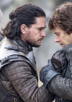 GoT - Jon Snow and Theon Greyjoy - S7