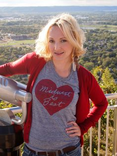 Women's Midwest is Best Tshirt in Gray and Red - FREE Shipping by meganleedesigns on Etsy https://www.etsy.com/listing/57289272/womens-midwest-is-best-tshirt-in-gray