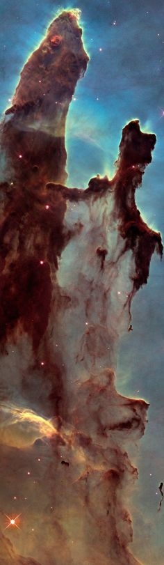 """Remember the """"Pillars of Creation,"""" the star-forming nursery in the heart of the Eagle Nebula? You've never seen it like this."""