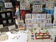Craft fair display inspiration