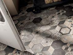 Wand- und Bodenbelag aus Ganzkörper Feinsteinzeug TERRA by Ceramiche Marca Corona