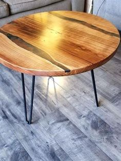 35 Beautiful Epoxy Table Top Ideas You Will Love 45 - HomEnthusiastic . - Ikea baby nursery - 35 Beautiful Epoxy Table Top Ideas You Will Love 45 – HomEnthusiastic - Unfinished Hardwood Flooring, Prefinished Hardwood, Installing Hardwood Floors, Chair Design Wooden, Wood Table Design, Kingston Ontario, Epoxy Resin Countertop, Ikea Baby Nursery, Epoxy Table Top
