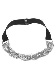 Rhinestone Braided Chain Belt - maurices.com