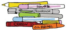 Great article on the different types of pens for Art Journaling
