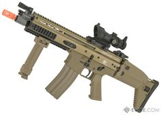(CYBER MONDAY EPIC DEAL) FN Herstal Licensed Full Metal SCAR CQB Airsoft AEG Rifle by G