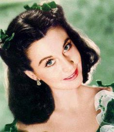 Vivien Leigh as Miss Scarlett O'Hara