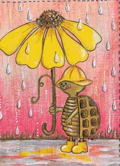 Rainy days in the Netherlands ... But always remember, Love Life and Life will Love You!