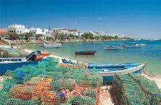 Cabanas, Algarve, Portugal.  The fishing village of Cabanas in Eastern Algarve, Portugal.