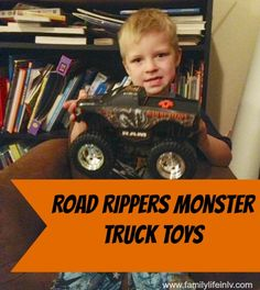 Another Road Rippers Monster Truck fan!