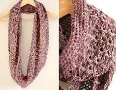Broomstick lace wrap scarf, de Lisette Eisenga  http://www.ravelry.com/patterns/library/broomstick-lace-wrap-scarf