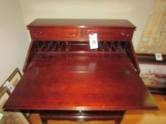 Davis Furniture   Lillian Russell Desk (May 1977)   SOLD!