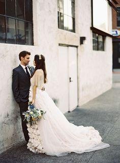 Wedding dress idea; Featured Photographer: Ashley Kelemen Photography