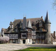 Château Saint-Hilaire, Sud de Louviers, Eure en Haute-Normandie, France…