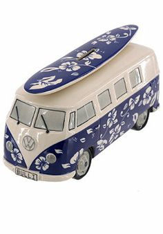 #planetsports VAN ONE CLASSIC CARS - Bully T1 Spardose / Money Box hawaii blue