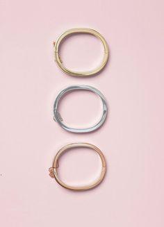 Minimal Extra Thin Bracelets - Céline