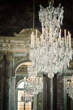 chandelier photography