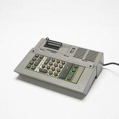 Ettore Sottsass, Calculator for Olivetti, c1960.