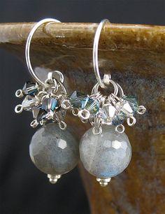 Handcrafted by Me Gray Labradorite Stone by LoneRockJewelry, $34.00