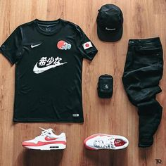 Behind The Scenes By fvshionhub Dope Outfits For Guys, Swag Outfits Men, Nba Fashion, Football Fashion, Hype Clothing, Soccer Outfits, Jersey Outfit, Half Shirts, Smart Casual Outfit
