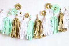 Tissue Paper Tassel Garland - Think Crafts by CreateForLess